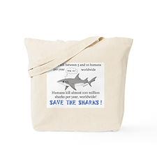 Save the Sharks Tote Bag