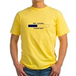 BOY LOADING... Yellow T-Shirt