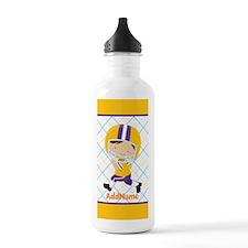 Kids American Football Water Bottle
