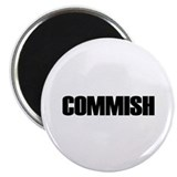 "COMMISH 2.25"" Magnet (10 pack)"