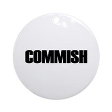 COMMISH Ornament (Round)