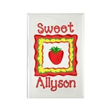 Sweet Allyson Rectangle Magnet