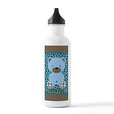 Personalized Bear Anim Water Bottle