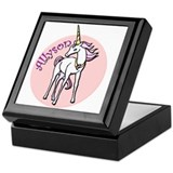 Allyson Unicorn Keepsake Box