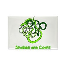 Snakes are Cool Rectangle Magnet (100 pack)