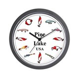 Unique Mill lacs Wall Clock
