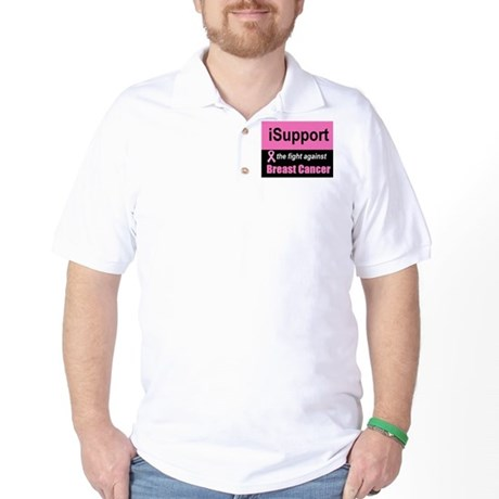 Fight Against Breast Cancer Golf Shirt
