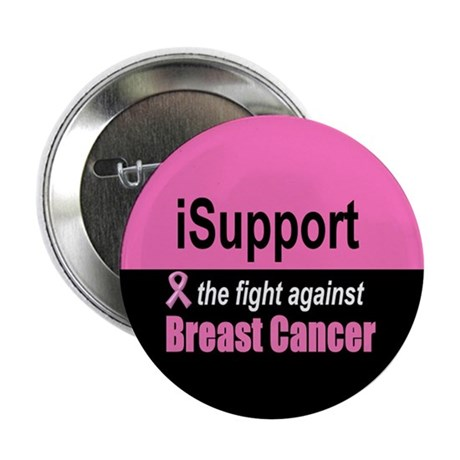 "Fight Against Breast Cancer 2.25"" Button (10 pack)"