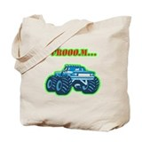 Monster Truck Tote Bag
