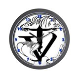 Tyger Vinum Wall Clock