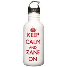 Keep Calm and Zane ON Sports Water Bottle