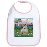 Lighthouse Scene & Shih Tzu Bib