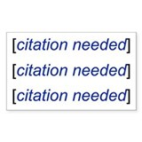 Citation Needed Sticker