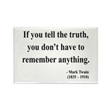 Mark Twain 30 Rectangle Magnet (10 pack)