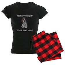Personalized Beagle Custom Pajamas
