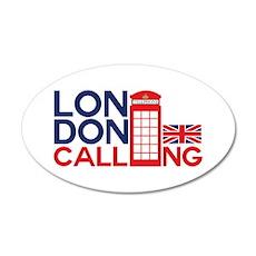 London Calling Wall Decal