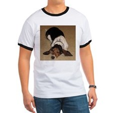 Cute Hound dog T