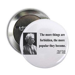 "Mark Twain 32 2.25"" Button (100 pack)"