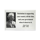 Mark Twain 37 Rectangle Magnet