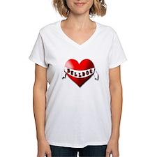 Bulldog gifts for women Women's V-Neck T-Shirt