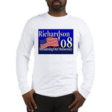 Cool Bill richardson for president Long Sleeve T-Shirt