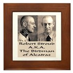 Robert Stroud Framed Tile