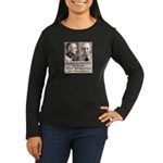 Robert Stroud Women's Long Sleeve Dark T-Shirt