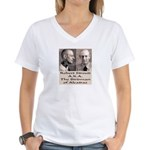 Robert Stroud Women's V-Neck T-Shirt