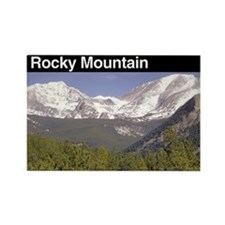 Rocky Mountain NP Rectangle Magnet