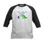 DINO-MITE BIRTHDAY! Kids Baseball Jersey