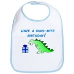 DINO-MITE BIRTHDAY! Bib