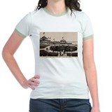 1870s Spanish Fort Concert Hall Jr. Ringer T-shirt
