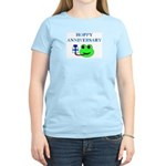 HAPPY/HOPPY ANNIVERSARY Women's Light T-Shirt
