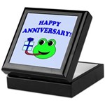 HAPPY/HOPPY ANNIVERSARY Keepsake Box