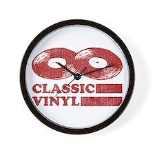 Classic Vinyl Wall Clock