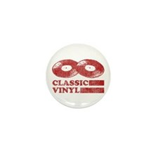 Classic Vinyl Mini Button (10 pack)
