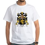 Viault Family Crest White T-Shirt