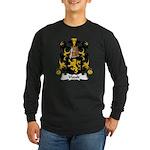 Viault Family Crest Long Sleeve Dark T-Shirt
