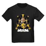 Viault Family Crest Kids Dark T-Shirt
