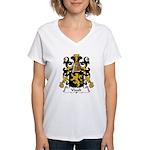 Viault Family Crest Women's V-Neck T-Shirt