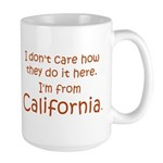 From California Large Mug