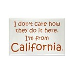 From California Rectangle Magnet