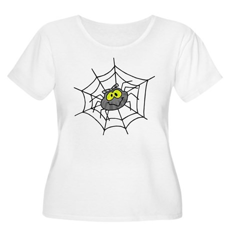 Little Spider Women's Plus Size Scoop Neck T-Shirt