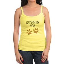 Greyhound Mom Jr.Spaghetti Strap