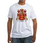 Taillefer Family Crest Fitted T-Shirt