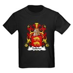 Taillefer Family Crest Kids Dark T-Shirt