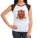 Taillefer Family Crest Women's Cap Sleeve T-Shirt