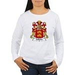 Taillefer Family Crest Women's Long Sleeve T-Shirt
