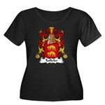 Taillefer Family Crest Women's Plus Size Scoop Nec