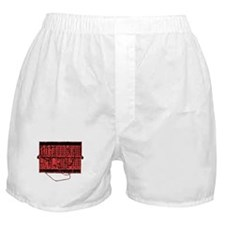 Modular Synth Red/Black Boxer Shorts